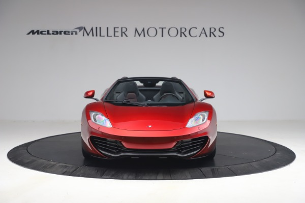 Used 2013 McLaren MP4-12C Spider for sale $134,900 at Rolls-Royce Motor Cars Greenwich in Greenwich CT 06830 12