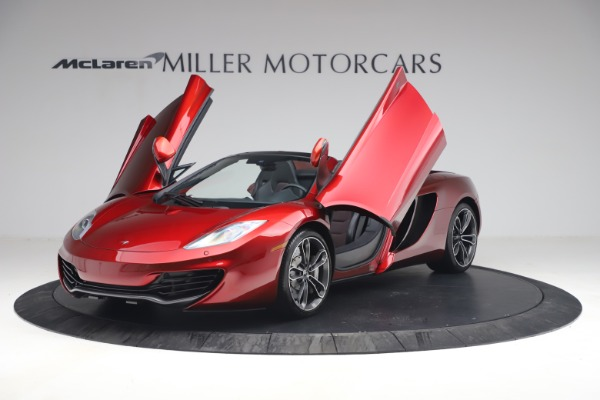 Used 2013 McLaren MP4-12C Spider for sale $134,900 at Rolls-Royce Motor Cars Greenwich in Greenwich CT 06830 14