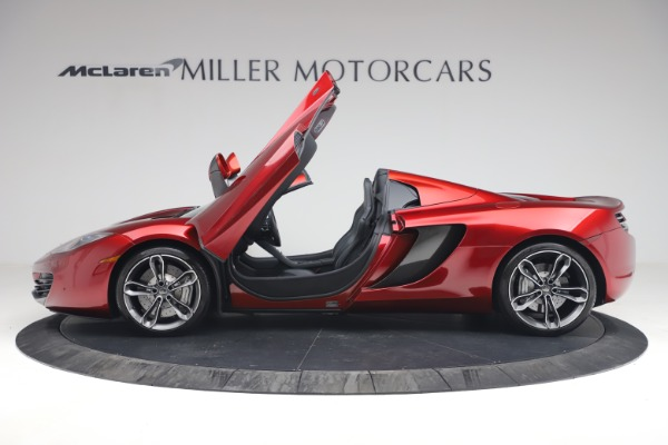 Used 2013 McLaren MP4-12C Spider for sale $134,900 at Rolls-Royce Motor Cars Greenwich in Greenwich CT 06830 15