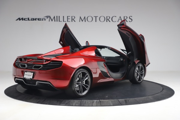 Used 2013 McLaren MP4-12C Spider for sale $134,900 at Rolls-Royce Motor Cars Greenwich in Greenwich CT 06830 18