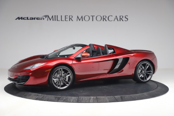 Used 2013 McLaren MP4-12C Spider for sale $134,900 at Rolls-Royce Motor Cars Greenwich in Greenwich CT 06830 2