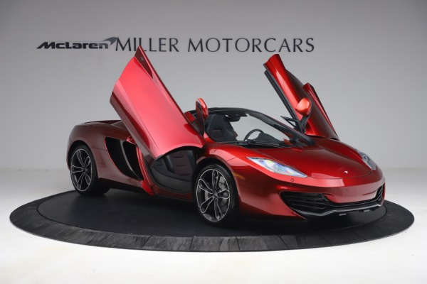 Used 2013 McLaren MP4-12C Spider for sale $134,900 at Rolls-Royce Motor Cars Greenwich in Greenwich CT 06830 20