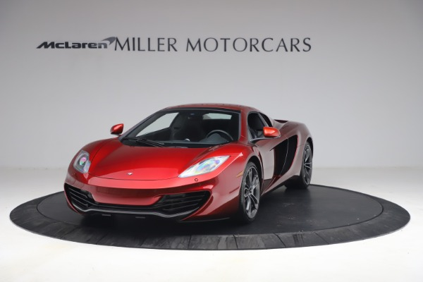 Used 2013 McLaren MP4-12C Spider for sale $134,900 at Rolls-Royce Motor Cars Greenwich in Greenwich CT 06830 22