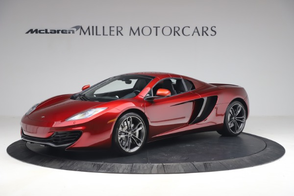 Used 2013 McLaren MP4-12C Spider for sale $134,900 at Rolls-Royce Motor Cars Greenwich in Greenwich CT 06830 23