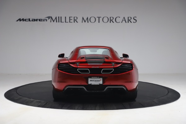 Used 2013 McLaren MP4-12C Spider for sale $134,900 at Rolls-Royce Motor Cars Greenwich in Greenwich CT 06830 27
