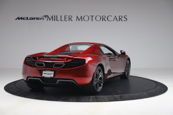 Used 2013 McLaren MP4-12C Spider for sale $134,900 at Rolls-Royce Motor Cars Greenwich in Greenwich CT 06830 28