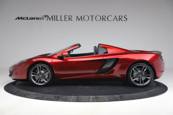 Used 2013 McLaren MP4-12C Spider for sale $134,900 at Rolls-Royce Motor Cars Greenwich in Greenwich CT 06830 3