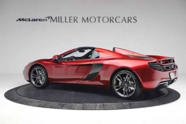 Used 2013 McLaren MP4-12C Spider for sale $134,900 at Rolls-Royce Motor Cars Greenwich in Greenwich CT 06830 4