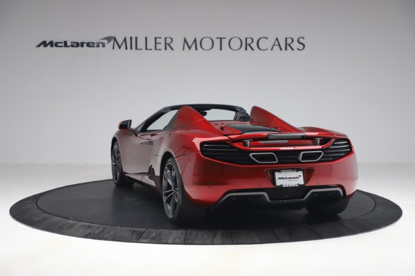 Used 2013 McLaren MP4-12C Spider for sale $134,900 at Rolls-Royce Motor Cars Greenwich in Greenwich CT 06830 5