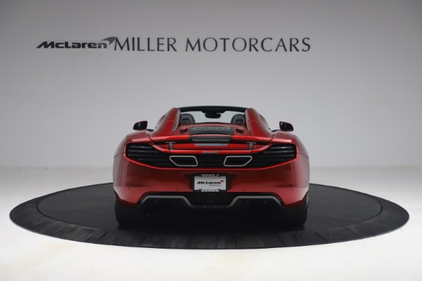 Used 2013 McLaren MP4-12C Spider for sale $134,900 at Rolls-Royce Motor Cars Greenwich in Greenwich CT 06830 6