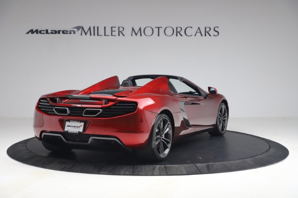 Used 2013 McLaren MP4-12C Spider for sale $134,900 at Rolls-Royce Motor Cars Greenwich in Greenwich CT 06830 7