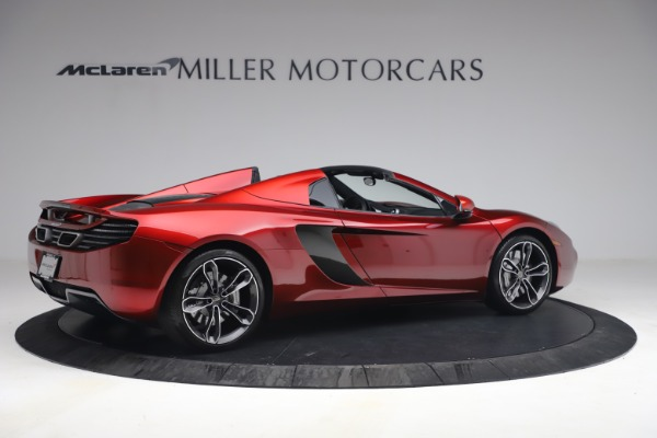 Used 2013 McLaren MP4-12C Spider for sale $134,900 at Rolls-Royce Motor Cars Greenwich in Greenwich CT 06830 8