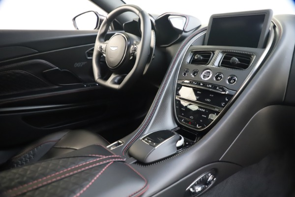 New 2021 Aston Martin DBS Superleggera 007 for sale $391,211 at Rolls-Royce Motor Cars Greenwich in Greenwich CT 06830 17