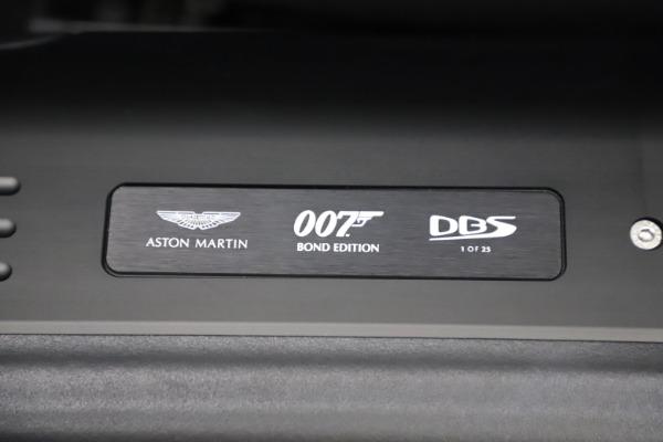 New 2021 Aston Martin DBS Superleggera 007 for sale $391,211 at Rolls-Royce Motor Cars Greenwich in Greenwich CT 06830 19