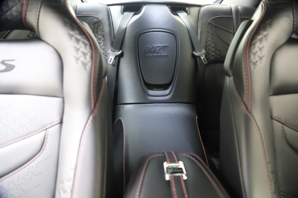New 2021 Aston Martin DBS Superleggera 007 for sale $391,211 at Rolls-Royce Motor Cars Greenwich in Greenwich CT 06830 22