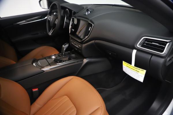 New 2021 Maserati Ghibli SQ4 for sale $85,804 at Rolls-Royce Motor Cars Greenwich in Greenwich CT 06830 23