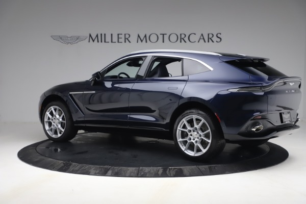 New 2021 Aston Martin DBX for sale $195,786 at Rolls-Royce Motor Cars Greenwich in Greenwich CT 06830 3