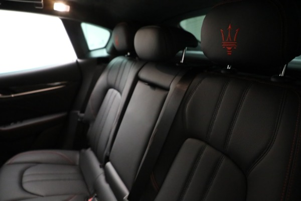 New 2021 Maserati Levante GTS for sale $138,385 at Rolls-Royce Motor Cars Greenwich in Greenwich CT 06830 18