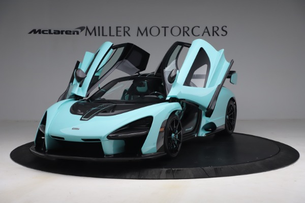Used 2019 McLaren Senna for sale $1,269,000 at Rolls-Royce Motor Cars Greenwich in Greenwich CT 06830 14