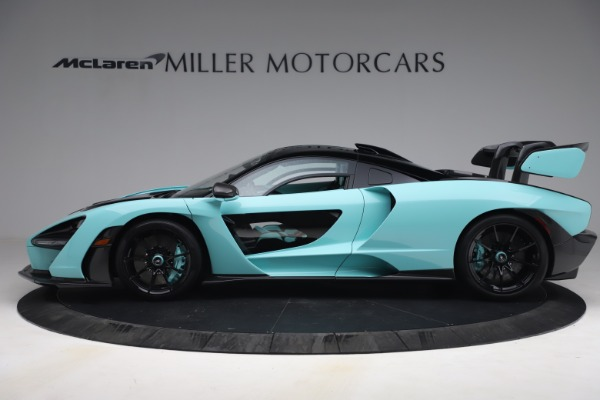 Used 2019 McLaren Senna for sale $1,269,000 at Rolls-Royce Motor Cars Greenwich in Greenwich CT 06830 3
