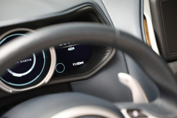 Used 2019 Aston Martin DB11 Volante for sale $209,900 at Rolls-Royce Motor Cars Greenwich in Greenwich CT 06830 19