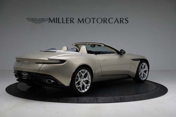 Used 2019 Aston Martin DB11 Volante for sale $209,900 at Rolls-Royce Motor Cars Greenwich in Greenwich CT 06830 7