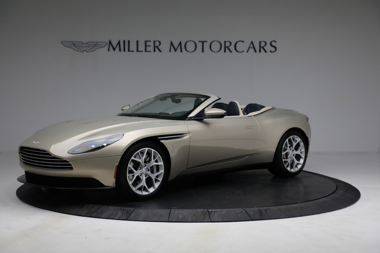 Used 2019 Aston Martin DB11 Volante for sale $209,900 at Rolls-Royce Motor Cars Greenwich in Greenwich CT 06830 1