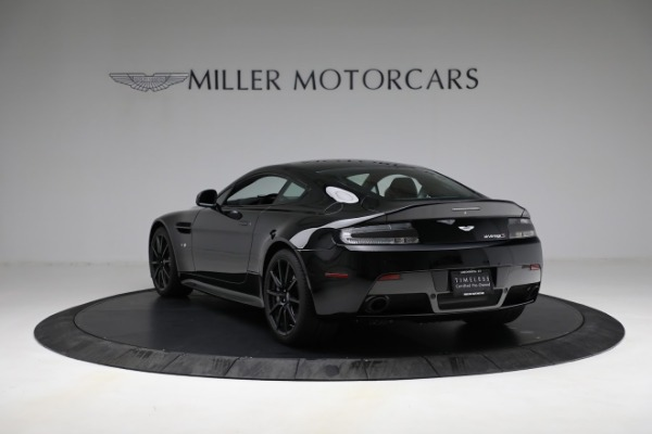 Used 2015 Aston Martin V12 Vantage S for sale $119,900 at Rolls-Royce Motor Cars Greenwich in Greenwich CT 06830 4