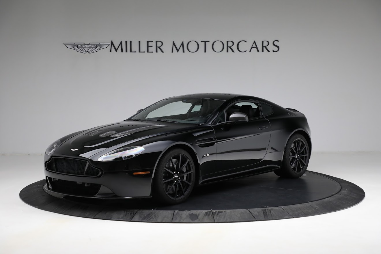 Used 2015 Aston Martin V12 Vantage S for sale $119,900 at Rolls-Royce Motor Cars Greenwich in Greenwich CT 06830 1