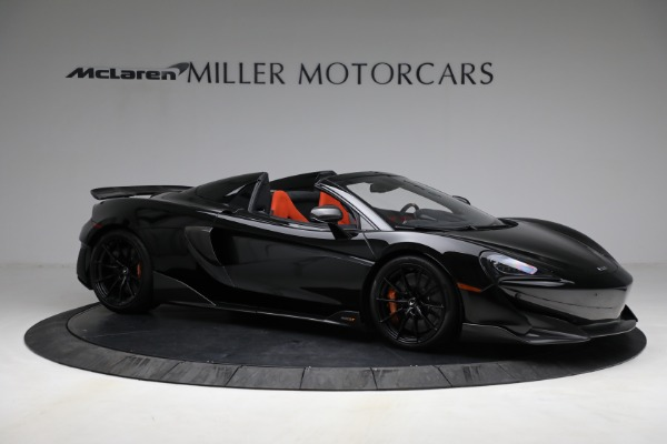 Used 2020 McLaren 600LT Spider for sale Call for price at Rolls-Royce Motor Cars Greenwich in Greenwich CT 06830 10