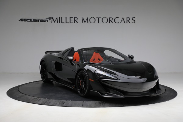 Used 2020 McLaren 600LT Spider for sale Call for price at Rolls-Royce Motor Cars Greenwich in Greenwich CT 06830 11