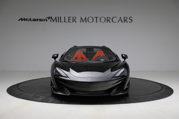 Used 2020 McLaren 600LT Spider for sale Call for price at Rolls-Royce Motor Cars Greenwich in Greenwich CT 06830 12