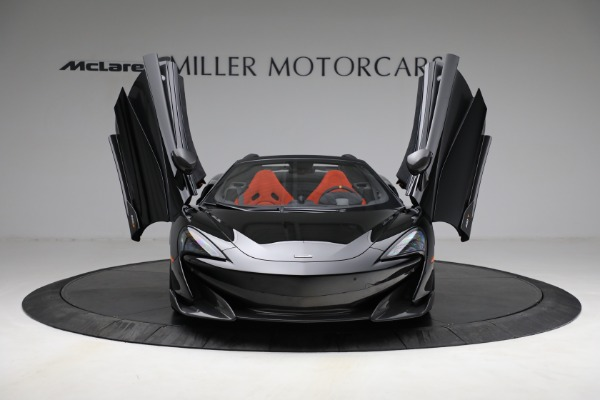 Used 2020 McLaren 600LT Spider for sale Call for price at Rolls-Royce Motor Cars Greenwich in Greenwich CT 06830 13
