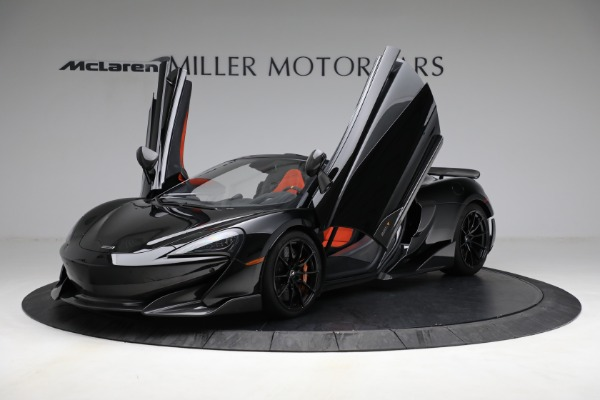 Used 2020 McLaren 600LT Spider for sale Call for price at Rolls-Royce Motor Cars Greenwich in Greenwich CT 06830 14