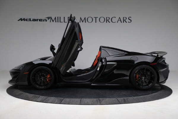 Used 2020 McLaren 600LT Spider for sale Call for price at Rolls-Royce Motor Cars Greenwich in Greenwich CT 06830 15