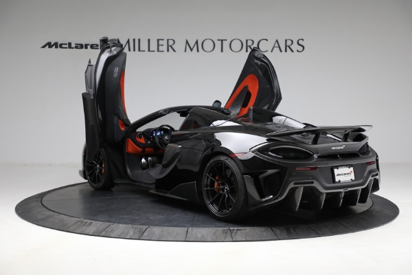 Used 2020 McLaren 600LT Spider for sale Call for price at Rolls-Royce Motor Cars Greenwich in Greenwich CT 06830 16