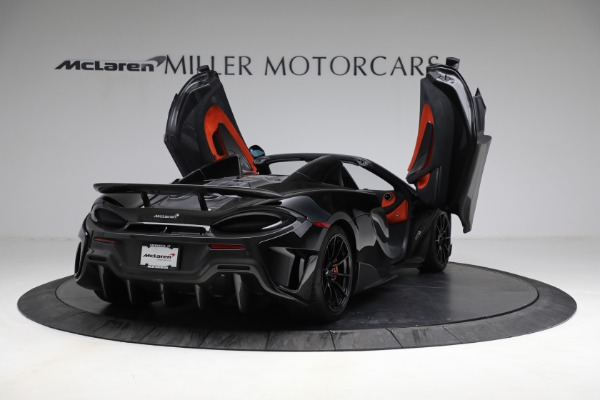 Used 2020 McLaren 600LT Spider for sale Call for price at Rolls-Royce Motor Cars Greenwich in Greenwich CT 06830 17