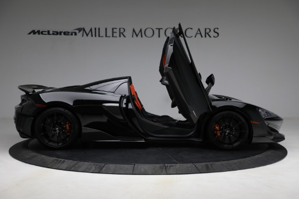 Used 2020 McLaren 600LT Spider for sale Call for price at Rolls-Royce Motor Cars Greenwich in Greenwich CT 06830 18