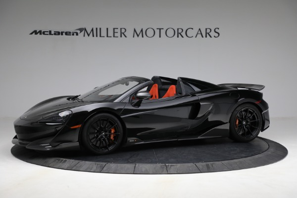 Used 2020 McLaren 600LT Spider for sale Call for price at Rolls-Royce Motor Cars Greenwich in Greenwich CT 06830 2