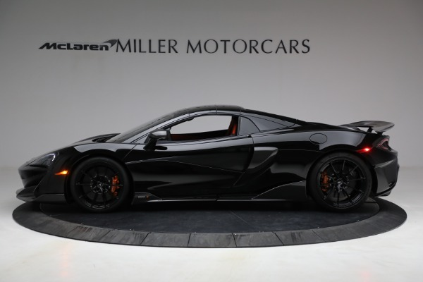 Used 2020 McLaren 600LT Spider for sale Call for price at Rolls-Royce Motor Cars Greenwich in Greenwich CT 06830 21