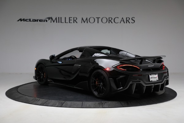 Used 2020 McLaren 600LT Spider for sale Call for price at Rolls-Royce Motor Cars Greenwich in Greenwich CT 06830 22