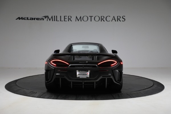 Used 2020 McLaren 600LT Spider for sale Call for price at Rolls-Royce Motor Cars Greenwich in Greenwich CT 06830 23