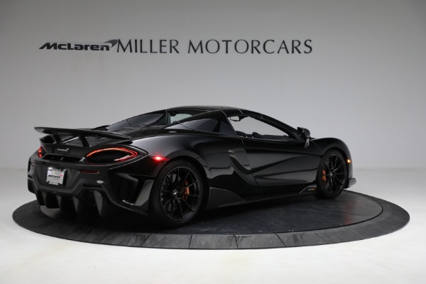 Used 2020 McLaren 600LT Spider for sale Call for price at Rolls-Royce Motor Cars Greenwich in Greenwich CT 06830 24