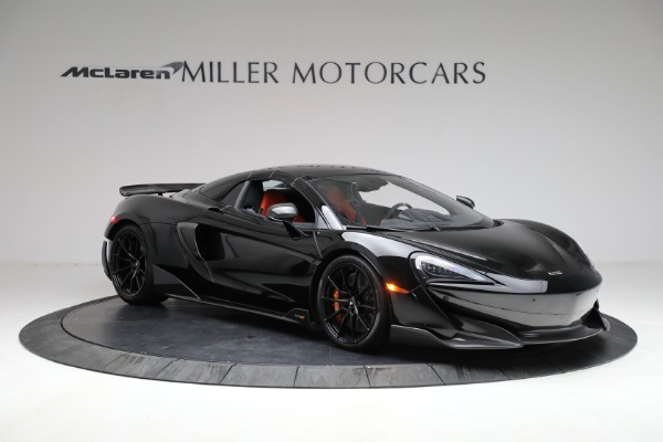 Used 2020 McLaren 600LT Spider for sale Call for price at Rolls-Royce Motor Cars Greenwich in Greenwich CT 06830 26