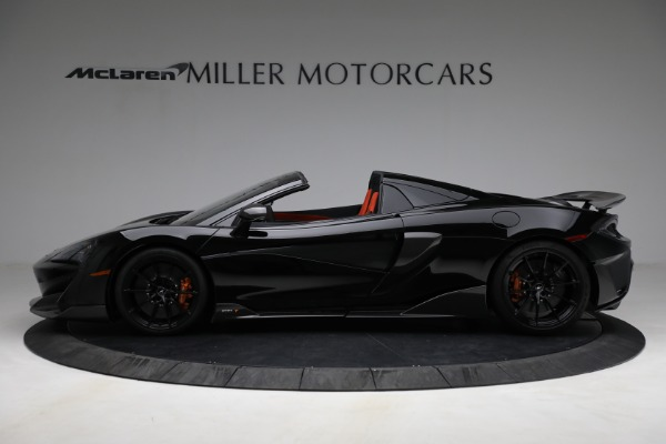 Used 2020 McLaren 600LT Spider for sale Call for price at Rolls-Royce Motor Cars Greenwich in Greenwich CT 06830 3