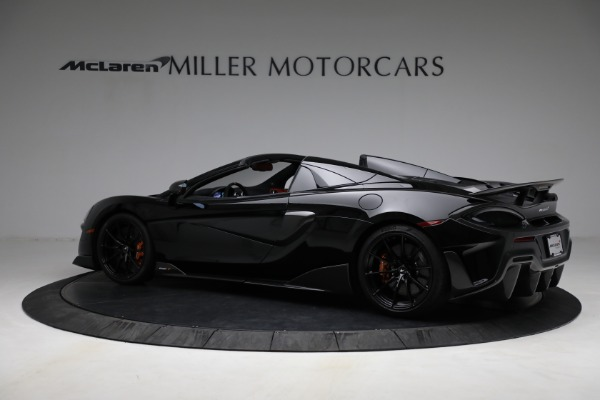 Used 2020 McLaren 600LT Spider for sale Call for price at Rolls-Royce Motor Cars Greenwich in Greenwich CT 06830 4