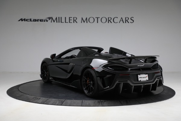 Used 2020 McLaren 600LT Spider for sale Call for price at Rolls-Royce Motor Cars Greenwich in Greenwich CT 06830 5