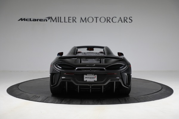 Used 2020 McLaren 600LT Spider for sale Call for price at Rolls-Royce Motor Cars Greenwich in Greenwich CT 06830 6