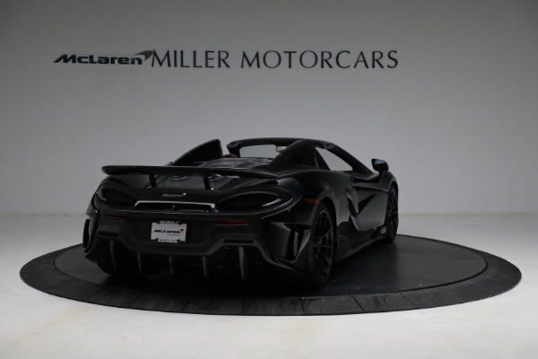 Used 2020 McLaren 600LT Spider for sale Call for price at Rolls-Royce Motor Cars Greenwich in Greenwich CT 06830 7
