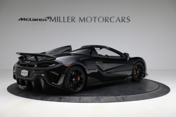 Used 2020 McLaren 600LT Spider for sale Call for price at Rolls-Royce Motor Cars Greenwich in Greenwich CT 06830 8
